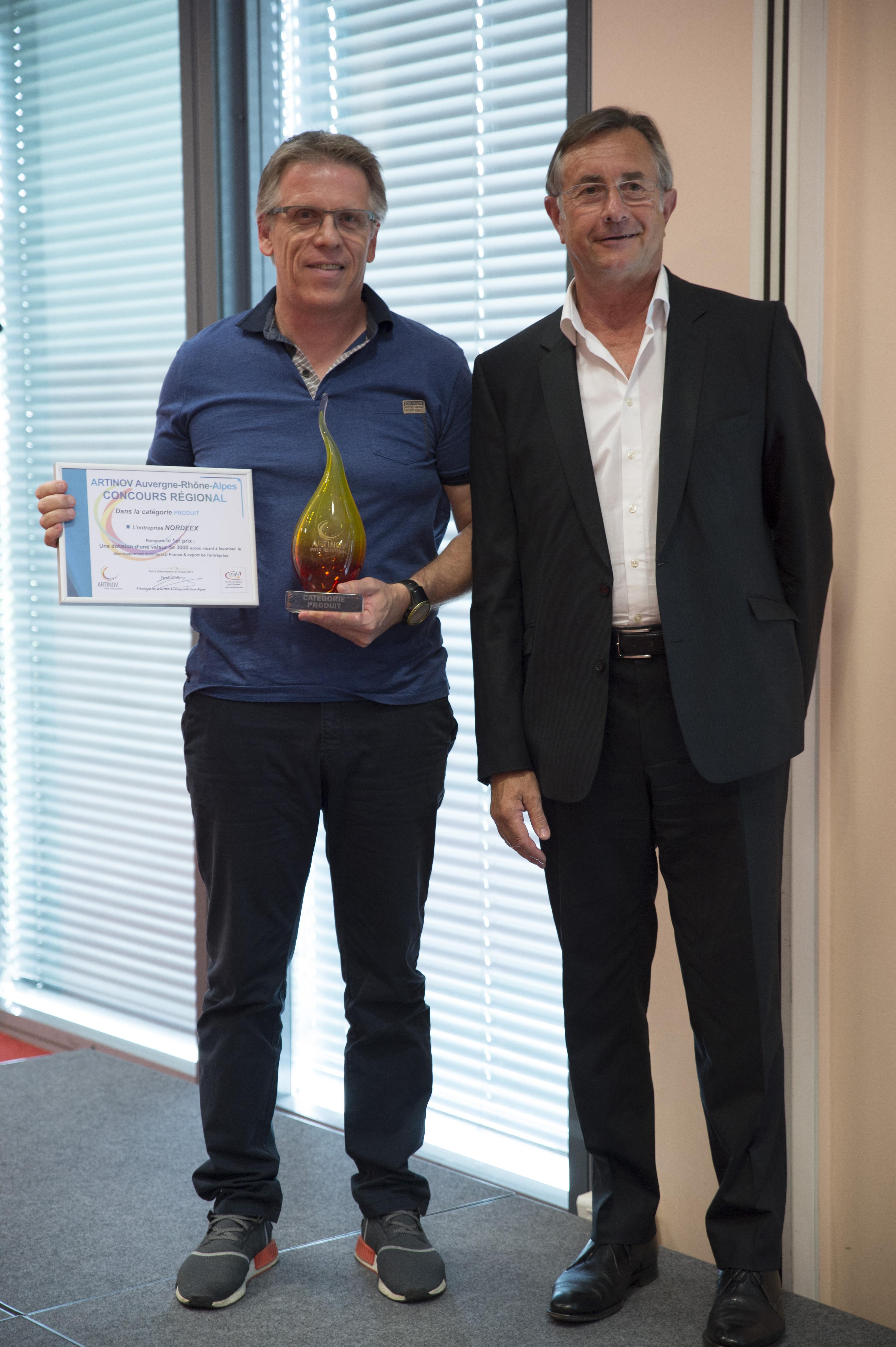Deux laur ats artinov savoie 2016 sur le podium artinov - Chambre des metiers savoie ...
