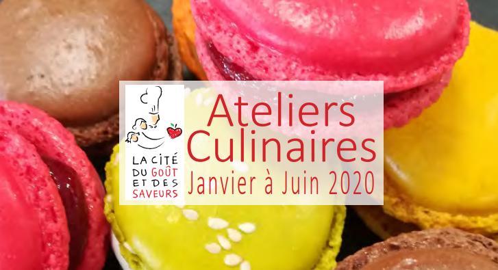 Savoien Cité du goût et des saveurs - ateliers culinaires 2019
