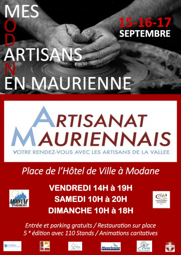 Affiche artisanat Mauriennais