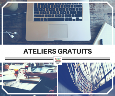 ateliers gratuits Numérique et Etudes de marchés CMA Savoie