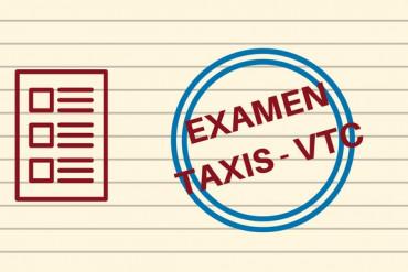 visuel examen admissibilité taxis-VTC Octobre 2018