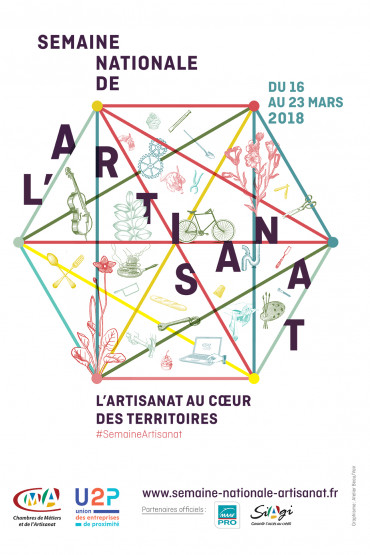 Affiche semaine nationale artisanat 2018